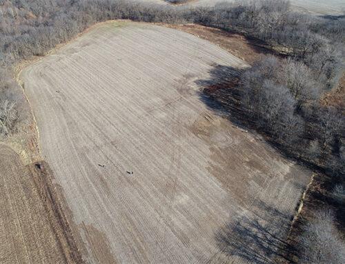 Seeding 24 Acres